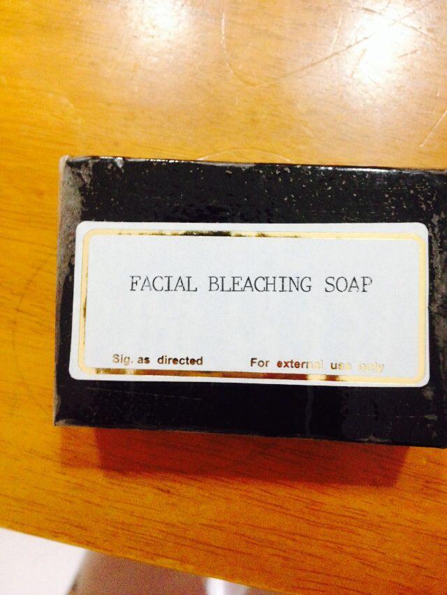 Facial Bleaching Soap
