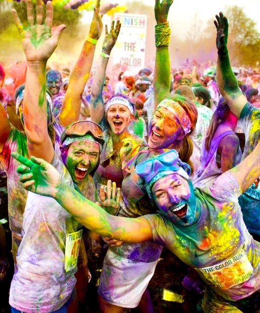 doing this with my friends soon!! cant wait for the color run :) -lacey