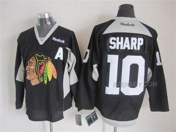 Chicago Blackhawks #10 Patrick Sharp 2014 Training Purple Jersey
