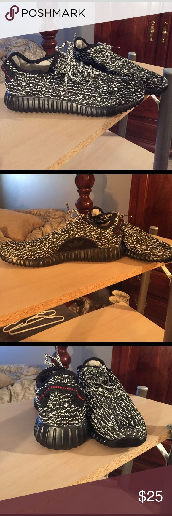 Yeezy Boosts Mimic Yeezy Boost never worn, in perfect condition & could never tell it's a mimic. Perfect for fashion, workout at a low cost Shoes Athletic Shoes