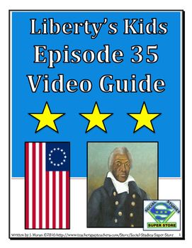 WHAT IS THIS EPISODE ABOUT? Encamped with Lafayette's army in Virginia, Henri enlists as a drummer boy and Sarah meets slave and double agent James Armistead. Meanwhile, General Washington prepares for a major offensive against the British. WHAT WILL YOU RECEIVE? 11 short answer