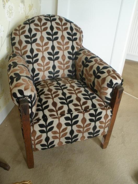 Amsterdamse School stoel