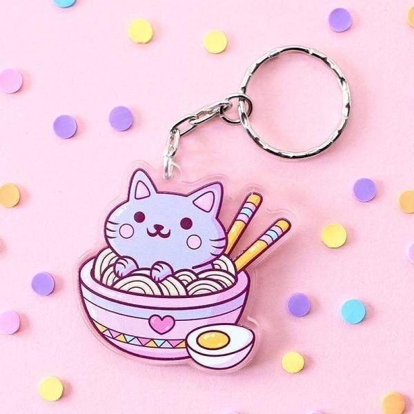 Cute Adorable Kawaii Acrylic Pins Acrylic Pin Bundle Animal Pins and Characters