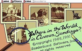 Where in The World is Carmen Sandiego? (Enhanced) screenshot #2