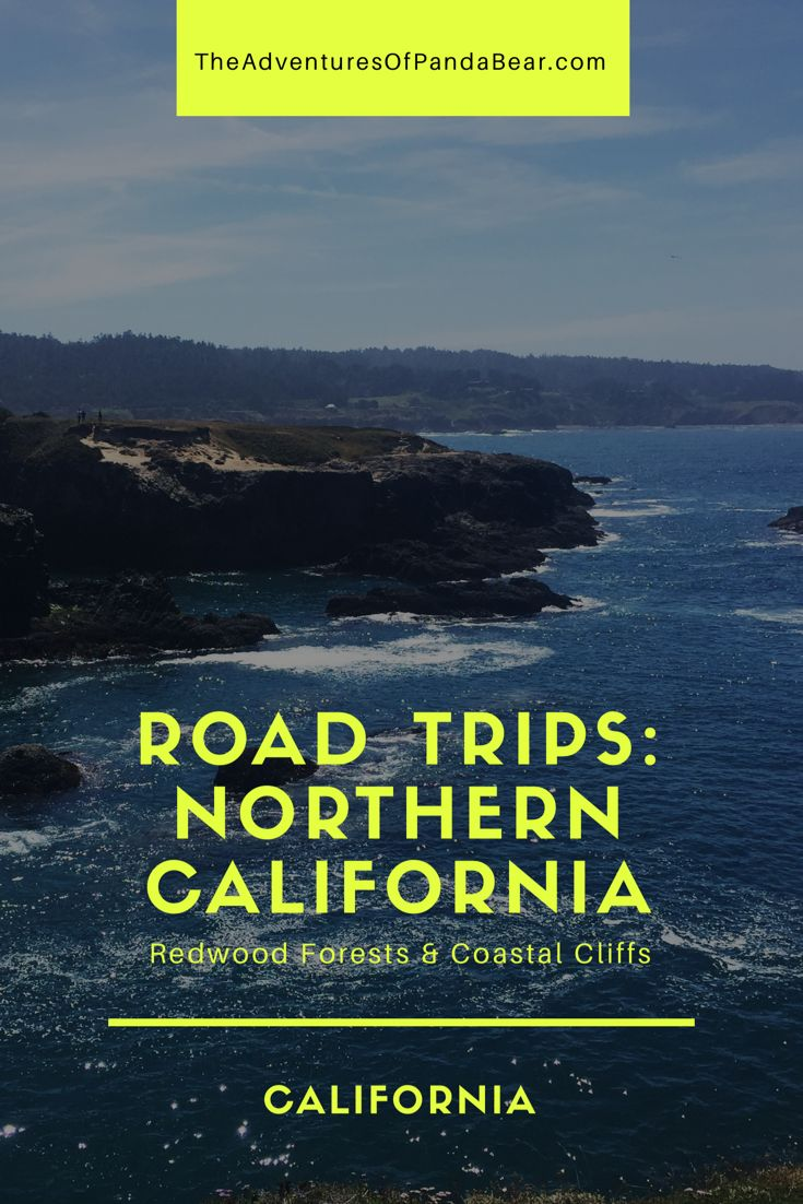 How to do a road trip in Northern California right! Travel itinerary on the best way to see redwoods and coastal cliffs in 4-5 days | Road Trips in California, Road Trip Itinerary, Redwood Forests, Humboldt Redwoods State Park,  Mendocino Coast, Van Damme State Park, Pygmy Forest, Point Cabrillo Lighthouse, Sights to See Northern California, Things to Do in NorCal