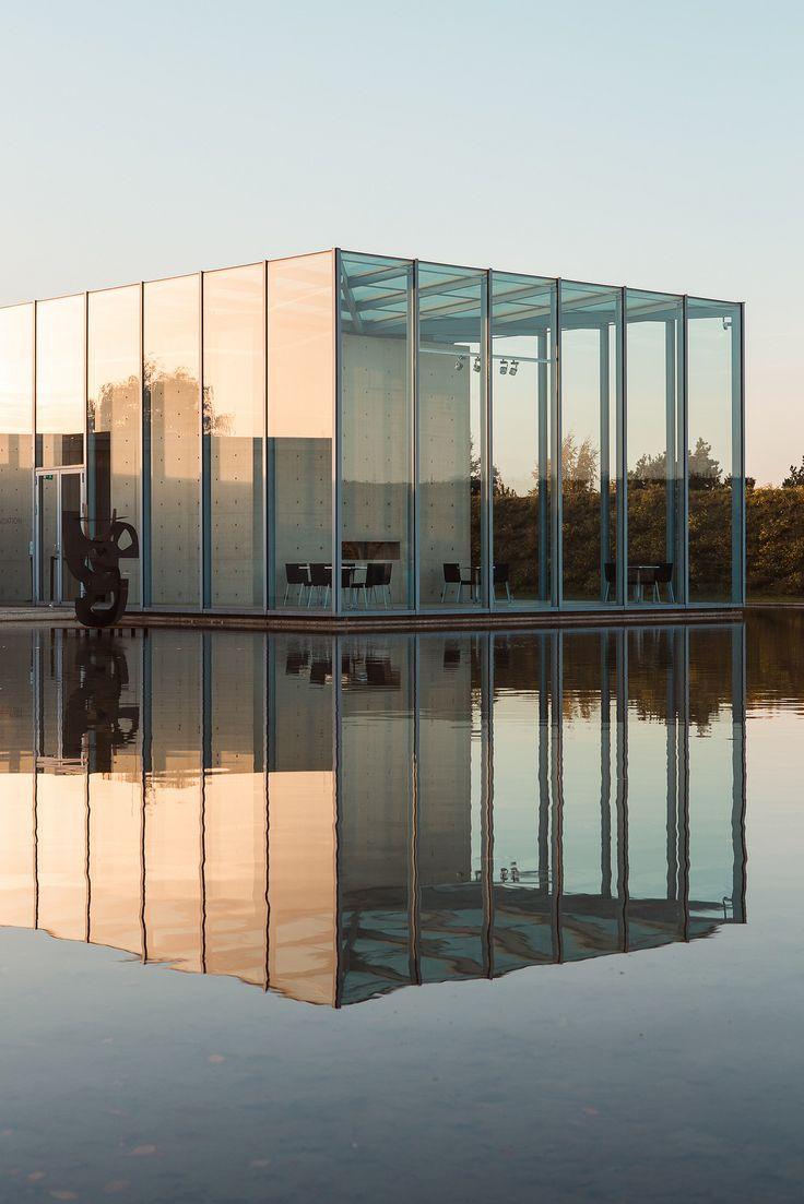 chrome hearts the beast Langen Foundation  Hombroich Island  Neuss  Germany by Tadao Ando Architect