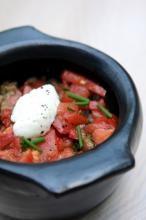 Fondue d'aubergines sur lit de quinoa à la noix de cajou  | cuisinez.ethiquable.coop