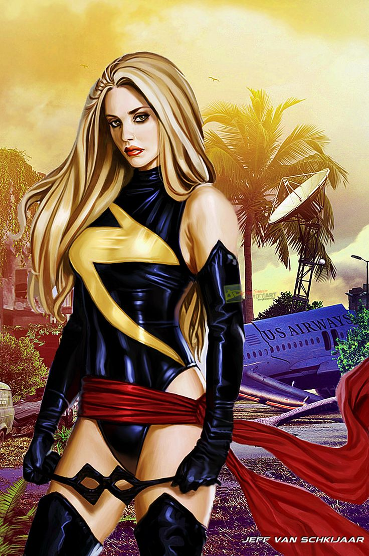 Ms Marvel by jeffery10.deviantart.com on @DeviantArt