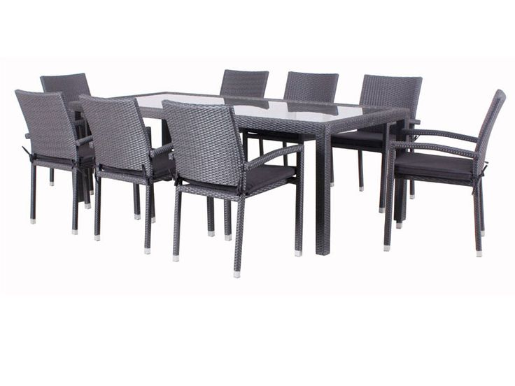 Outdoor Furniture - Jardine 9pc setting - robcousens Outdoor Furniture Factory direct