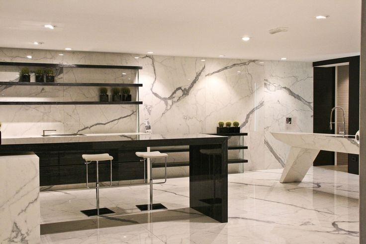 Lauro floor - márvány desing konyha