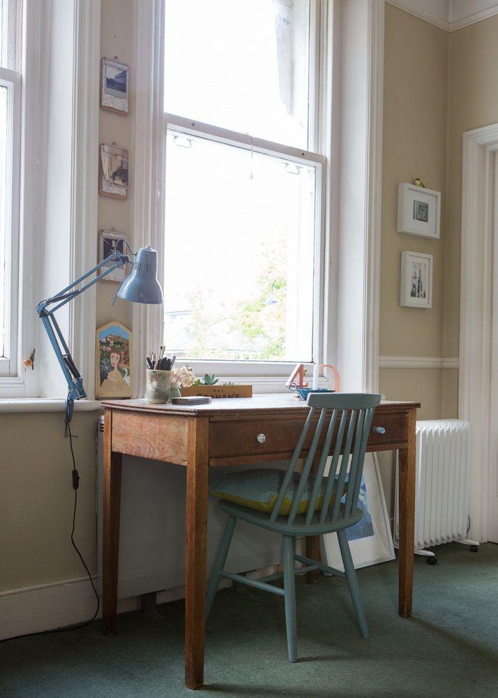 Casinha colorida: Uma casa vintage, suave e inspiradora