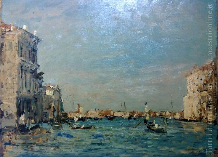 Emma Ciardi - Canal Grande a Venezia