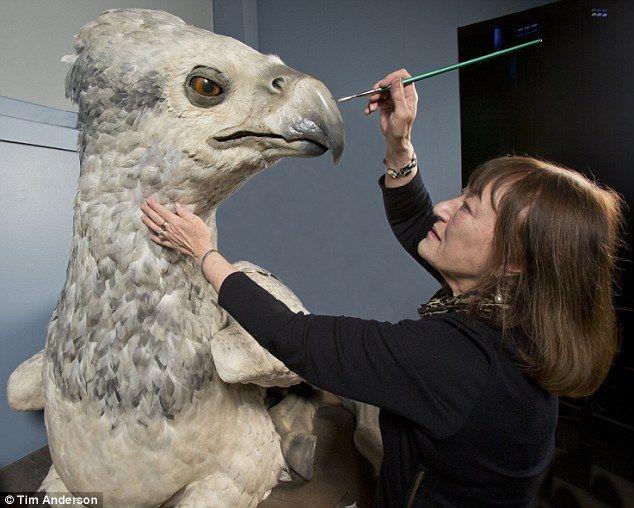 How Harry Potter Film Crew Built Buckbeak The Hippogriff
