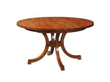 Shop For Stickley Exeter Round Table, 53505 60 1LVS, And Other Dining Room  Dining Tables At Stacy Furniture In Grapevine, Allen, Plano, TX.