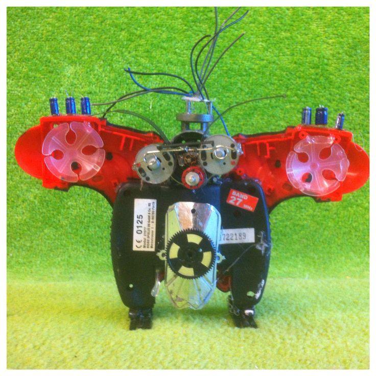 Owl Robot Creation Erik Rutten