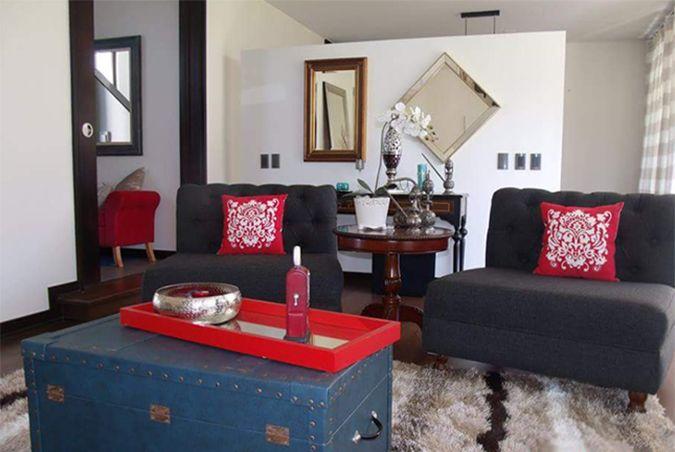 Casa de Anna Sanches, diseñadora de interiores brasileña en Chile.