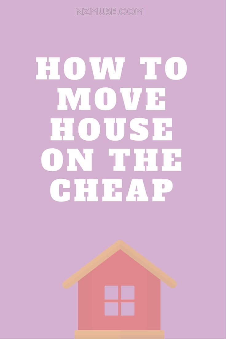 Moving can be an EXPENSIVE undertaking! Here's how to save money when moving house.