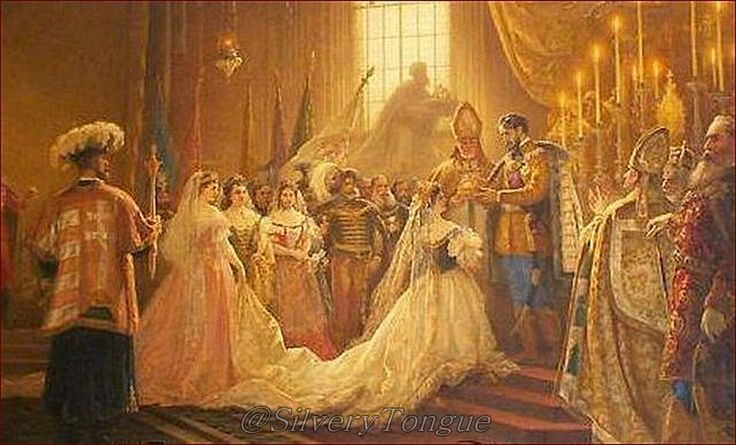 On June 8th, 1867, Empress Elisabeth crowned queen of Hungary by Viktor Madarász, now in Andrássy Chateau Betliar.