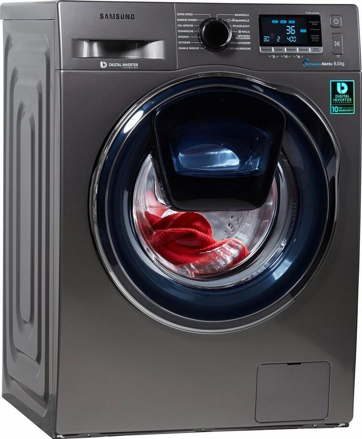 Samsung Waschmaschine WW80K6404QX/EG, A+++, 8 kg, 1400 U/Min
