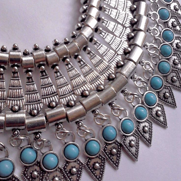 Big,bold and beautiful statement piece necklace