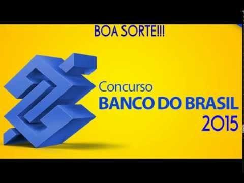 Vídeo de 1 minuto com informações básicas sobre o edital do Concurso do Banco do Brasil de 2015.