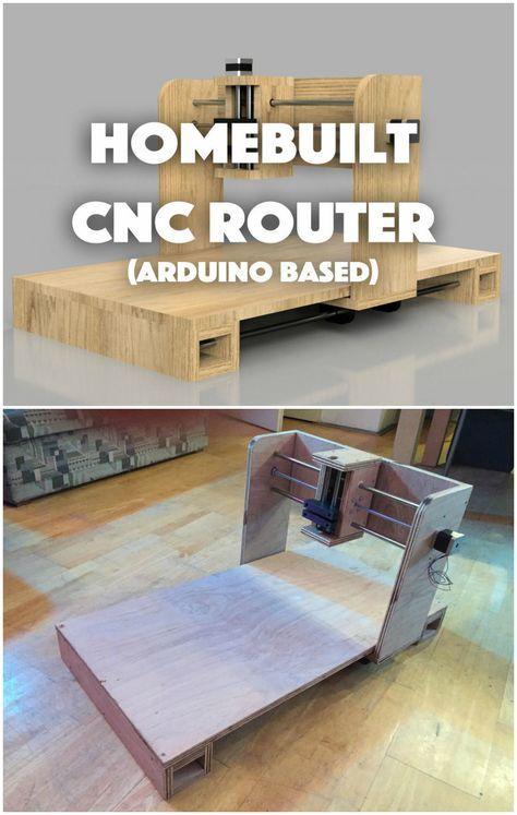 Selbstgebauter (DIY) CNC-Router – Arduino-basiert (GRBL)