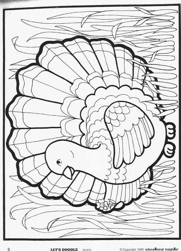 Check out this blast from the past: Let's Doodle! Coloring Sheets. (Psst! More holiday themed sheets to come after Thanksgiving!)