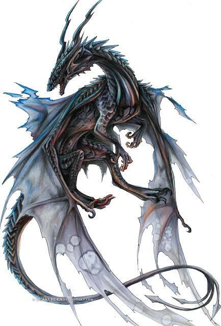 DRAGÓN, ilustración de Pearleden