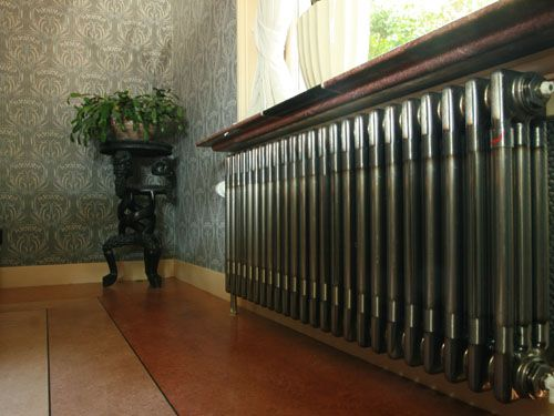 Moderne radiatoren in een klassieke omgeving!