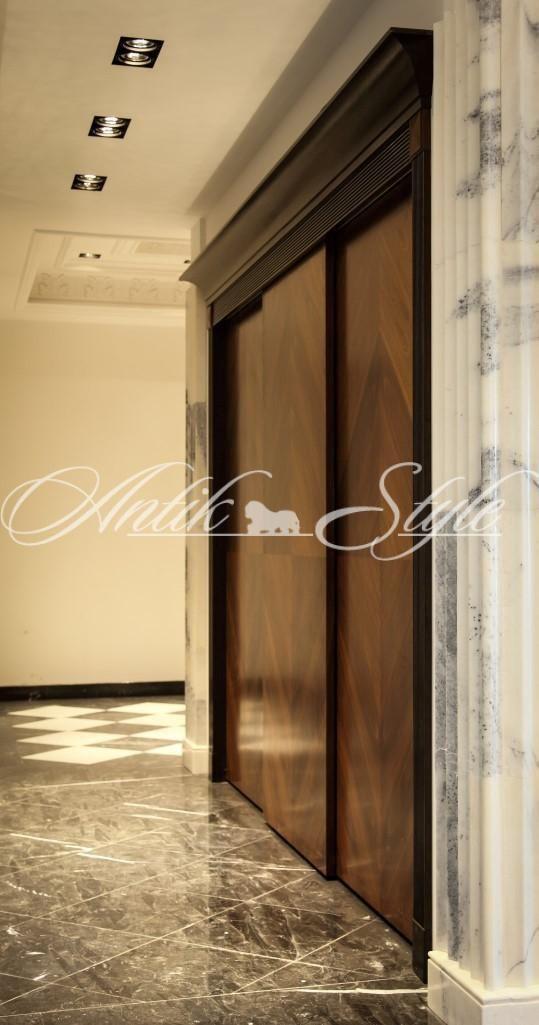 форма расположения дверей шкафа
