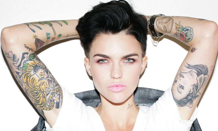 Ruby Rose: 'I used to pray to God that I wouldn't get breasts' #Hair-Beauty