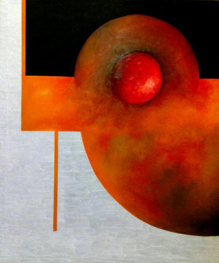 By Jesús Ojeda. Vitriol.3 (120x100). Year 2011