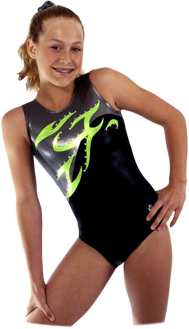 New Infinity Tank Gymnastics Leotard by Snowflake Designs | eBay