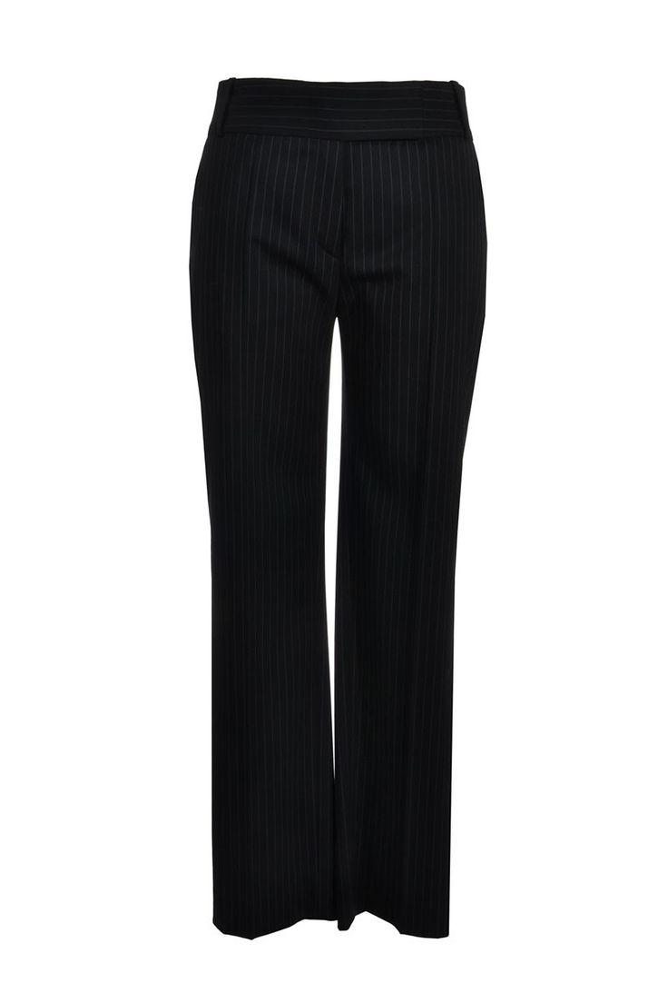 #HugoBoss | Elegante Nadelstreifen #Hose , Gr. L | Hugo Boss Hose | mymint-shop.com | Ihr #OnlineShop für #Secondhand / Vintage #Designerkleidung & Accessoires bis zu -90% vom Neupreis das ganze Jahr #pants #mymint