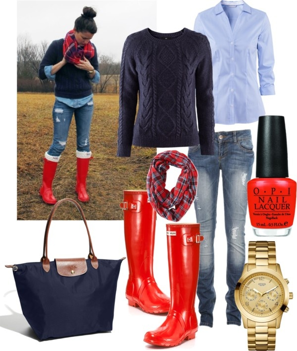 """""""Get the look: Navy and Red"""" by amandamariexoxo on Polyvore"""