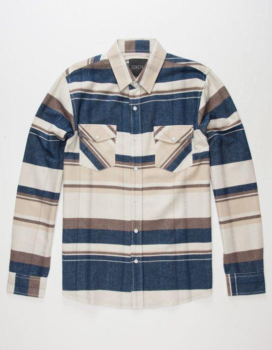 COASTAL True Mens Flannel Shirt