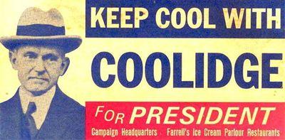 "Calvin Coolidge 1924: ""Keep Cool With Coolidge"""