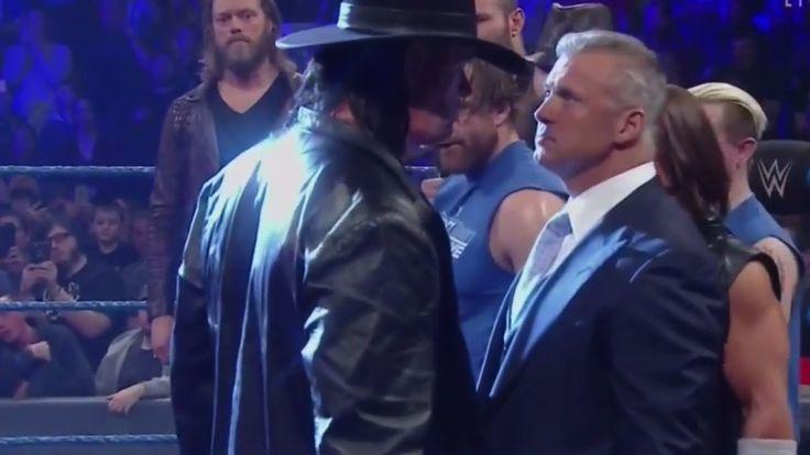 😍 The Undertaker Returns to SmackDown, Full Segment (WWE SmackDown, 15th November 2016) 720p - YouTube