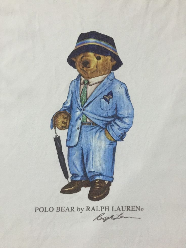 A personal favourite from my Etsy shop https://www.etsy.com/listing/385205926/vintage-polo-by-ralph-lauren-bear-white