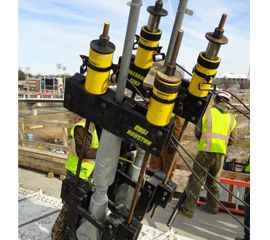 High-tonnage cylinders #construction