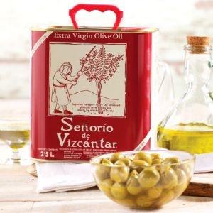 LaTienda.com - Senorio de Vizcantar Extra Virgin Olive Oil (2.5 Liters) http://www.tienda.com/food/products/oo-46.html?site=1