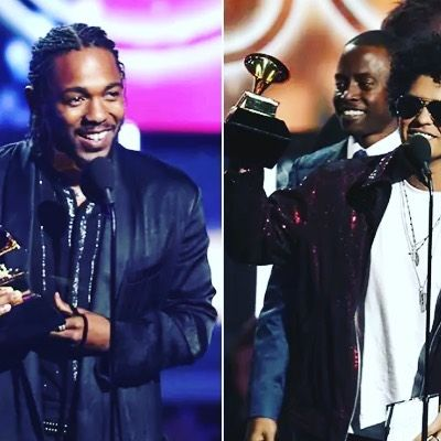 Bruno Mars and Kendrick Lamar emerged as the two big winners at the 2018 Grammy Awards.   Mars emerged as the winner of the Album and Record of the Year for his 24K Magic record. In fact he won all the categories he was nominated for. He picked up the Best R&B Album Song of the Year (That's What I Like) Best R&B Performance and the Best R&B Song awards.  Kendrick Lamar on the other hand dominated the rap categories. The 'Loyalty' singer won the Best Rap Album (DAMN) Best Rap Song (Hum... Get…