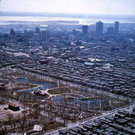 Le parc La Fontaine, 1965 - Archives de la Ville de Montréal