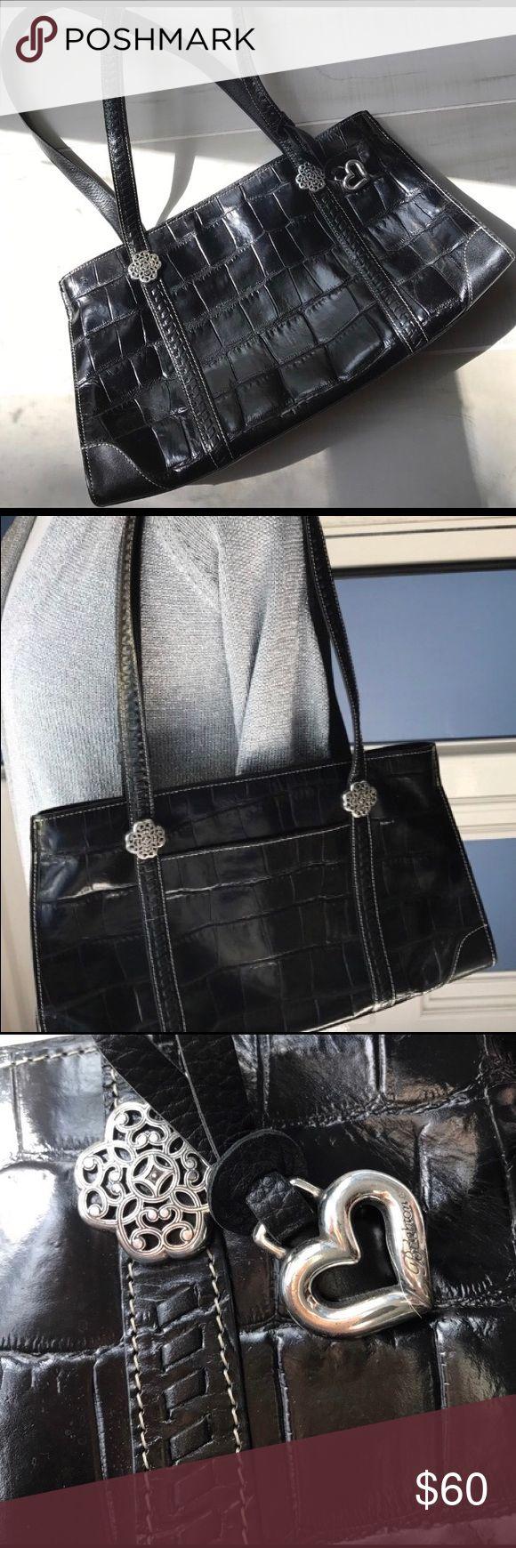 👜Brighton  Purse Brighton Purse 👜 Black.  Excellent condition Brighton Bags Shoulder Bags