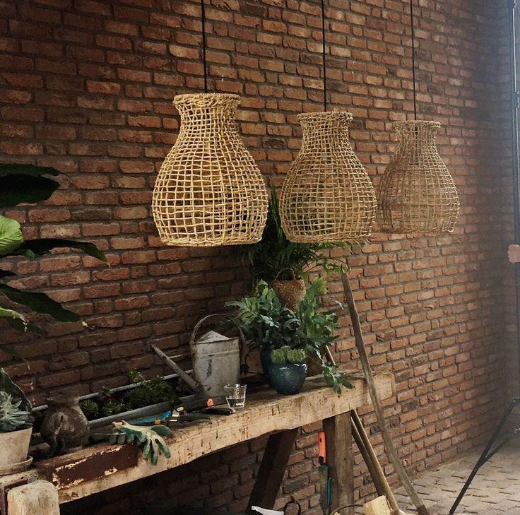 Hanglamp Grass naturel art.nr 92601