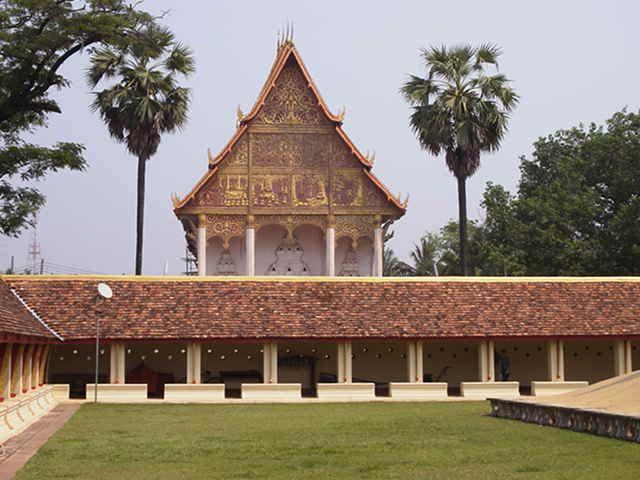 Temple grounds #Laos