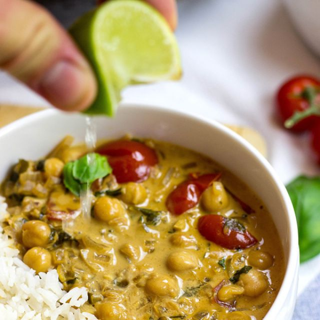 veganistische curry