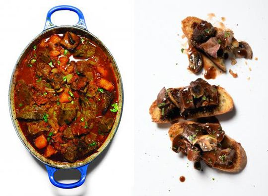 Wild Game recipes.  Because you never know.