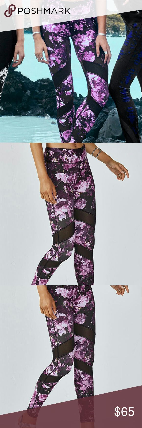 🌸NWT! Fabletics Gaviota leggings, orchid impasto GAVIOTA LEGGING  Color: Orchid Impasto Print  Size: M  Inseam: Tall 30  Double up on breathable mesh details to keep you cool from all angles. All-way stretch fabric, moisture-control technology, and a UPF 50+ treatment provide allow you to push your body to the brink (while still staying comfortable).  Styling: Moisture-Wicking, Compression Fabric, All-Way Stretch, Chafe-Free, UPF 50+, Internal Waistband Pocket for Key/Card, Semi-Sheer…
