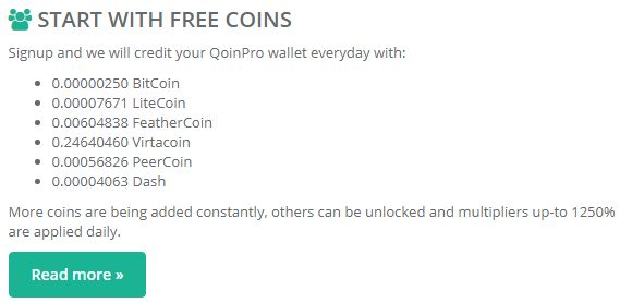 Get free Bitcoin and other cryptocurrencies daily! Invite family and friends to receive up to 1250% extra payments!  https://qoinpro.com/ad2346319537fde7663d9900f00839fd #freebitcoin #freecrypto #freecryptocurrency #freemoney #bitcoin #litecoin #dogecoin #virtacoin #peercoin #dashcoin